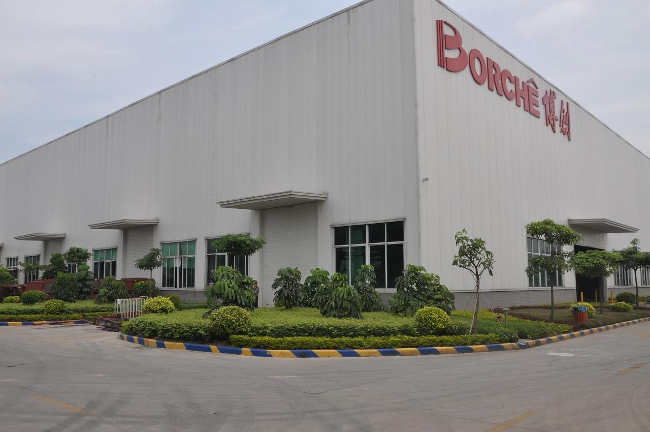 钢结构工程案例:广州博创厂房