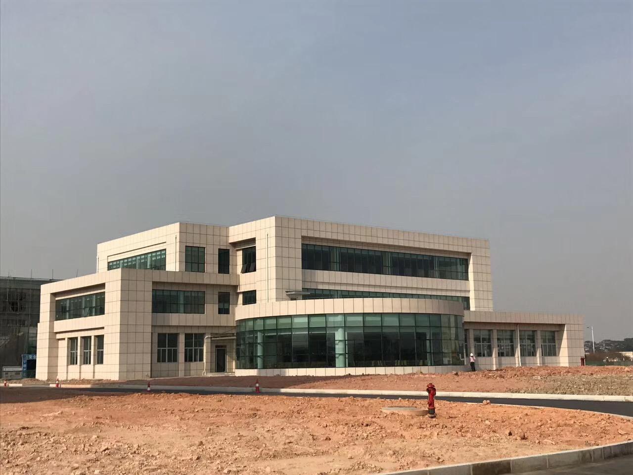 钢结构工程案例:中粮(东莞)粮油有限公司厂区