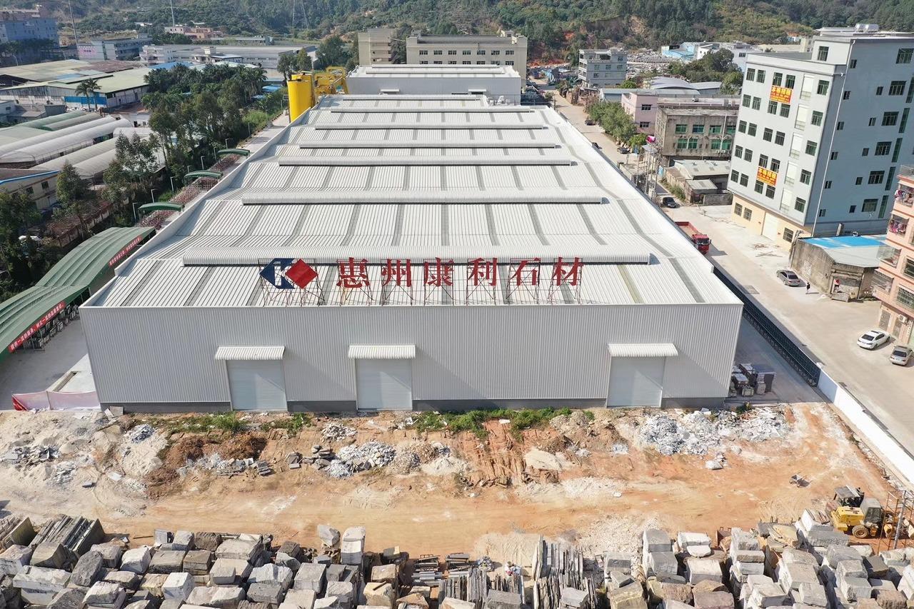 钢结构工程案例:康力集团惠州厂房