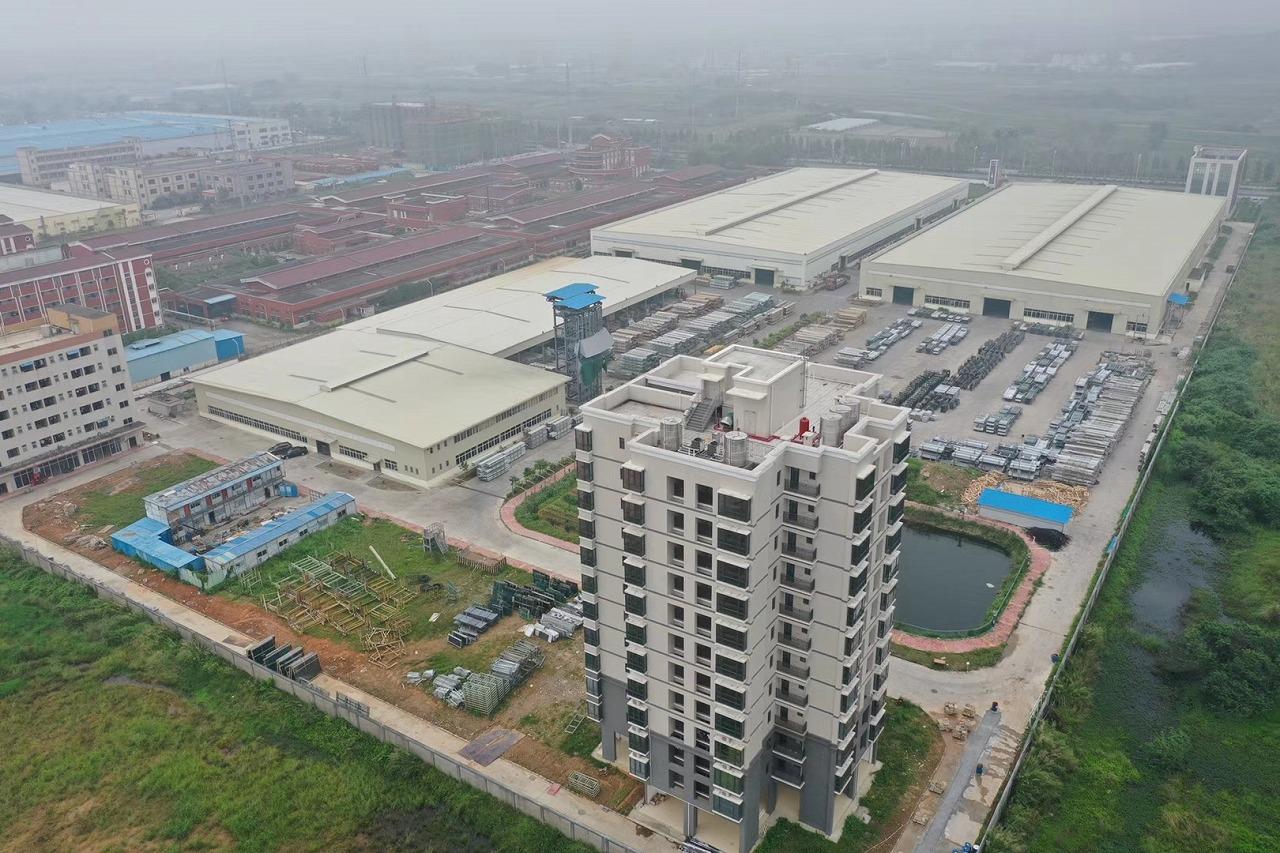 钢结构工程案例:广田(方特)幕墙科技有限公司厂房