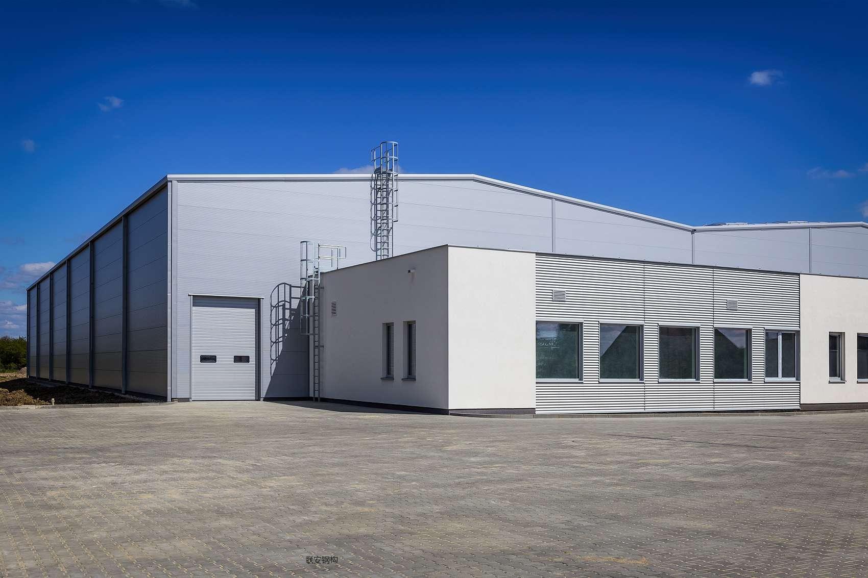 钢结构厂房图片
